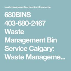 Waste Management Bin Service Calgary: Waste Management Dumpsters: calgary the dumpster Waste Removal, Junk Removal, Waste Management Dumpster, Waste Collection Service, Recycling Services, Dumpster Rental, Calgary, How To Remove, Commercial
