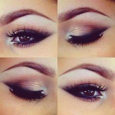 light smokey eyes