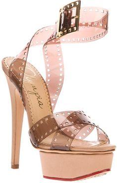 Girls On Film Stiletto Sandal - Lyst Charlotte Olympia