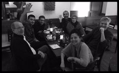 """Richard Armitage with the cast of """"Berlin Station"""" Jan 29, 2016 The cast of Berlin Station thanks to Michelle Forbes. Courtesy of Chrissy. @BerlinStation i spy Leland Orser, Richard Dillane, Tamlyn Tomita - great cast! Richard Armitage, Richard Jenkins, Rhys Ifans, and Michelle Forbes."""