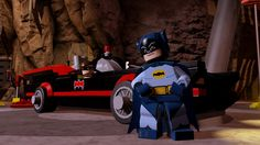 The cheesy '60s Batman and Robin are in Lego Batman 3 (and so is Bat-Cow)
