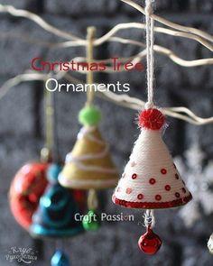 Рождественские колокольчики на елку | Своими руками | Постила