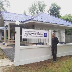 Repair and paint at Kingdom Hall in Kabin Buri - Thailand