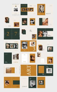 LONEST Photography Portfolio ~ Magazine Templates ~ Creative Market #lookbook #magazine #editorial #branding #brand #guidelines #portfolio #layout #AD