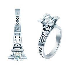 #Paris #Wedding #Ring