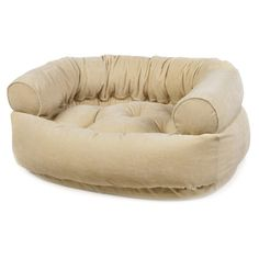 Bowsers Diamond Series Microvelvet Double Donut Dog Bed - Dog Beds at Hayneedle...
