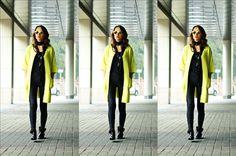 880c5a488c Kolejna propozycja Madame Poupee. Tym razem blogerka postawiła na dwa  kolory czerń i niezwykle modny