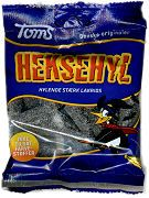 Salty Danish Licorice - my husband and young son could eat this by barrel-full! .....Elizabeth