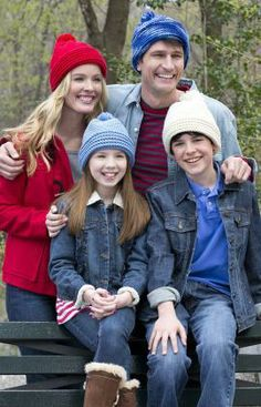 Crochet Family of Hats Free Patterns from Red Heart Yarns