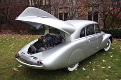 1940 Tatra T87, rear engine