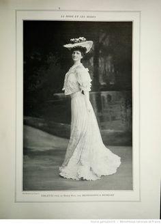 Les Modes : revue mensuelle illustrée des Arts décoratifs appliqués à la femme | 1905-06 | Gallica