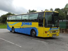 Jones International Leyland Tiger (Van Hool bodied) MTI 1940, at Merthyr Tydfil Bus & Coach