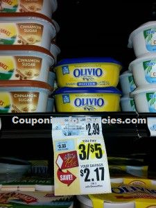 Olivio Butter only $0.67 at Tops!!! - http://couponingforfreebies.com/olivio-butter-0-67-tops/