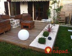 Nemusíte betónovať – toto vyzerá prekrásne: 17 inšpirácií na terasy z dr… - Terrasse Backyard Projects, Backyard Patio, Backyard Landscaping, Back Gardens, Outdoor Gardens, Jardin Zen Interior, Backyard Makeover, Yard Design, Garden Inspiration