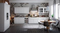 Cucina bianca modello Dialogo   Cucina   Pinterest   Cucina and ...