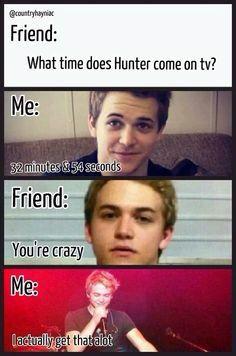 Hunter Hayes funny