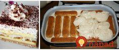 Fantastický dezert bez varenia a pečenia. Pripravíte ho úplne nastudeno!
