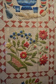 The American Museum at Bath, UK.  Photo by Sew Many Quilts - Too Little Time