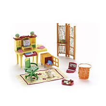 Fisher-Price Loving Family Dollhouse Furniture Set - Home Office
