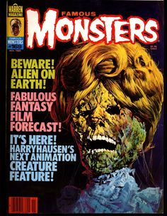 Famous Monsters 169 Horror Science Fiction Fantasy Harryhausen's CLASH of the TITANS Fulci ZOMBIE Alex Toth Jack Kirby Thundarr on T V