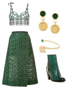 """""""🌼spring 🌻"""" by mrsagosto ❤ liked on Polyvore featuring Sacai, Rosie Assoulin, Chanel, Paula Mendoza and Diesel"""