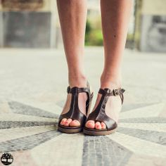 Looking for shoes for your summer wardrobe? Look no further: our #Stratham Heights T-strap Sandal. #inmyelement