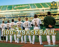 Oakland Athletics Players | Download Oakland Athletics wallpaper, 'Oakland Athletics Team'.