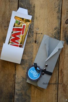 Father's Day Gift Idea- Candy Bar Wrappers