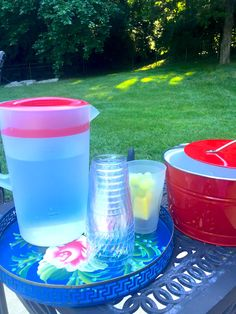 Easy tips for keeping kids hydrated: Set up a self-service water station outside where they're playing.