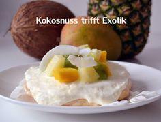 Baisertörtchen mit Kokos und exotischem Fruchtsalat I www.sweetundstyle.blogspot.de