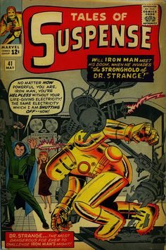 Tales of Suspense featuring Ironman, #41, May