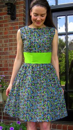 My super easy to sew dress...I say after sewing about half a dozen of 'em
