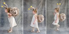 Super-sweet snail costume (Oh Happy Day)