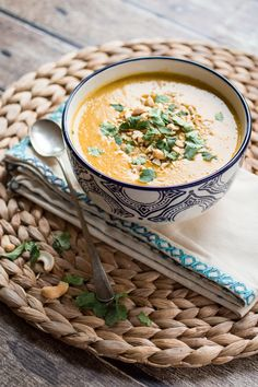 This Vegan Indian Sweet Potato Soup is richly spiced and made from simple, fresh…