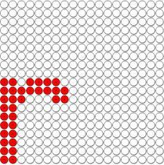 kralenplank r ( via www.meester-en-juf.nl alle letters te downloaden)
