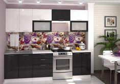 Kuchynská zostava VALENCIA BLACK METAL 260 do modernej domácnosti. Dvierka sú vyrobené z kvalitnej MDF dosky vo farbe biela a čierna s metalickým odleskom. Kovové úchytky. #byvanie #domov #nabytok #kuchyne  #kuchynskelinky #modernynabytok #designfurniture #furniture #nabytokabyvanie #nabytokshop #nabytokainterier #byvaniesnov #byvajsnami #domovvashozivota #dizajn #interier #inspiracia #living #design #interiordesign #inšpirácia Black Metal, Valencia, Kitchen Cabinets, House, Home Decor, Furniture, Decoration Home, Home, Room Decor