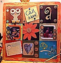 Wooden Bouquet Bulletin Board Inspiration