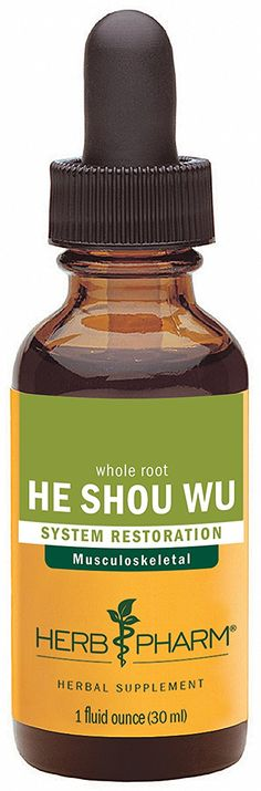 Herb Pharm He (Ho) Shou Wu Extract for Musculoskeletal System Support - 1 Ounce ** Find out more details by clicking the image : Healthy Herbal Supplements