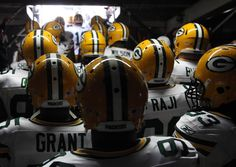 Packed and ready    The Green Bay Packers prepare to enter the stadium prior to their game against the San Diego Chargers on Sunday, Nov. 6 in San Diego. The Packers won 45-38.