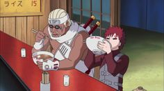 Gaara the one tails and bee the eight tails
