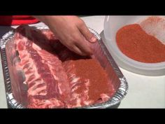 Beer Basted Baby Back Ribs, Sauce & Rub Recipes
