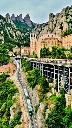 Montserrat, Catalonia, Spain.