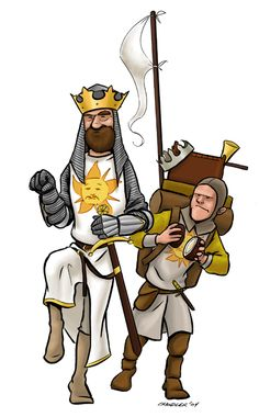 Arthur and Patsy - Monty Python and the Holy Grail