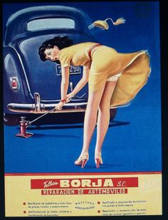 Gotta get this! Old Posters, Pin Up Posters, Poster Ads, Vintage Posters, Pin Up Girl Vintage, Vintage Pins, Retro Advertising, Vintage Advertisements, Gravure Illustration