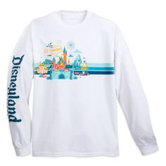 Disneyland Long Sleeve T-Shirt for Adults