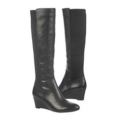 """Naturalizer® """"Quinlee"""" Tall Wedge Boots"""