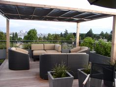 Rooftop Deck Sun Shade