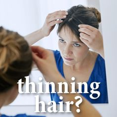 Dr Oz talked to a woman who was experiencing severe hair loss and explained some possible reasons you could be experiencing thinning hair.