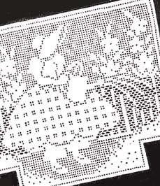 Filet crochet sunbonnet chair set laura wheeler 2884 pattern filet 1940s sunbonnet girl chair set filet crochet pattern dt1010fo