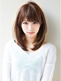 アフロートジャパン(AFLOAT JAPAN)AFLOAT『菅谷』レイヤーを入れてもらえない人は僕のところまで! Cute Hairstyles For Medium Hair, Kawaii Hairstyles, Medium Hair Cuts, Hairstyles Haircuts, Medium Hair Styles, Short Hair Styles, Japan Hairstyle, Jung So Min, Long Layered Haircuts